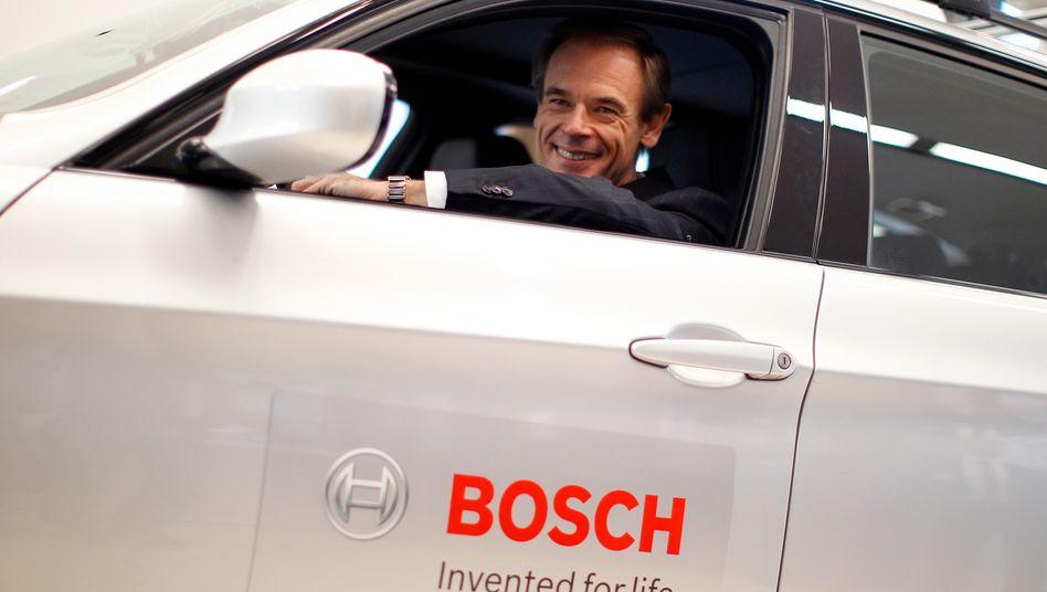 Bosch-Chef Volkmar Denner: Bosch übernimmt seinen italienischen Zulieferer Albertini Caesare - damit sich das Desaster, das zum BMW-Produktionsstopp führte, nicht wiederholt