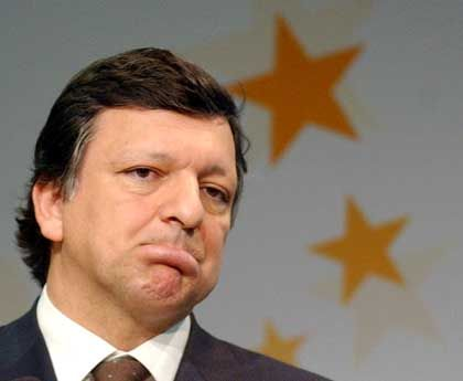 Privatperson im Amt: EU-Kommissionspräsident José Manuel Barroso