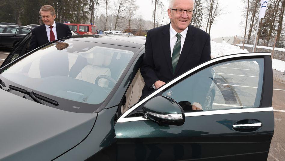 Winfried Kretschmann: Der baden-württembergische Ministerpräsident sieht das Setzen eines Jahresziels skeptisch