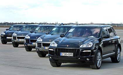 Porsche Cayenne: Derzeit schluckt schon der herkömmliche Sechszylinder fast 13 Liter pro 100 Kilometer