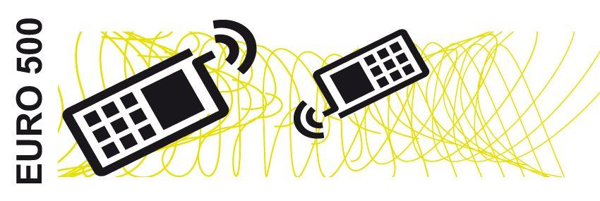 GRAFIK EURO 500 / 2012 / Telekommunikation