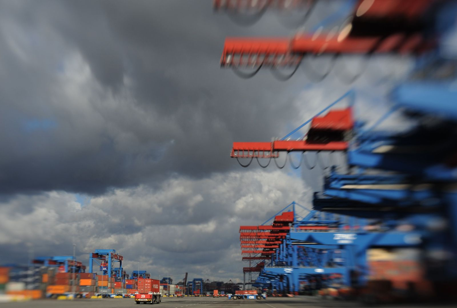 Konjunktur / Hamburger Hafen