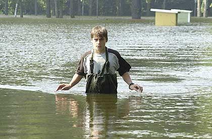 Konditionen mit höheren Prämien: Hochwasser in Wittenberge