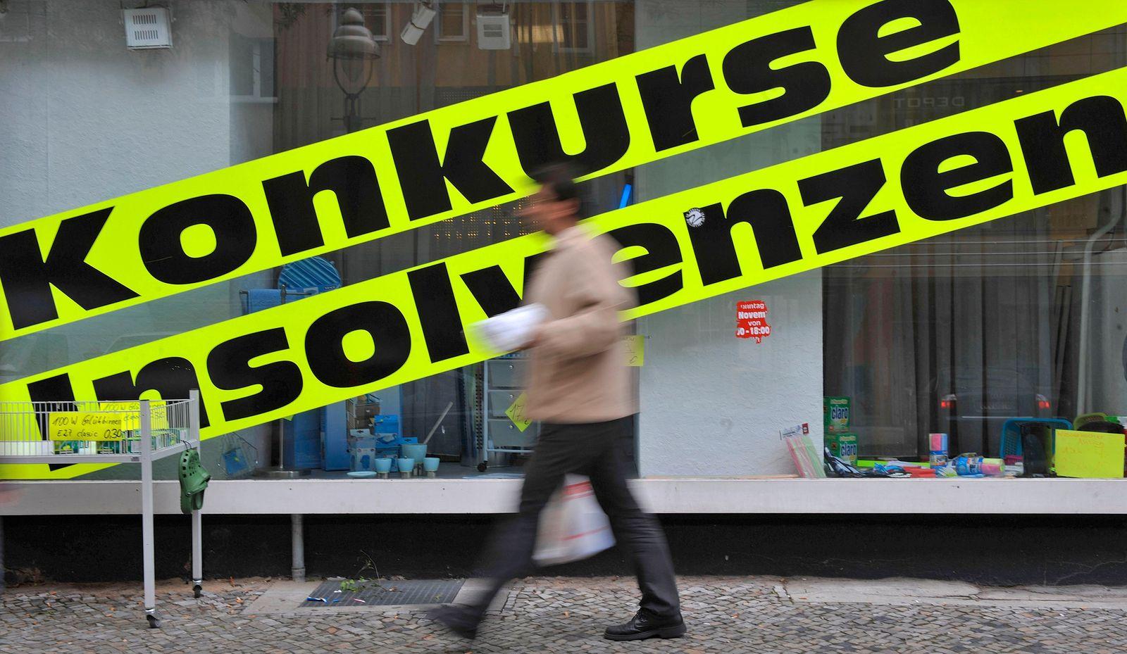 DEU Unternehmen Insolvenzen