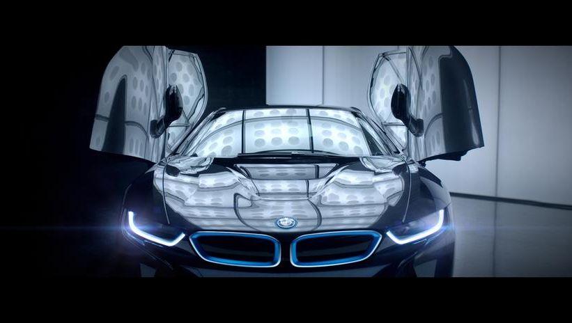Futuristische BMW i8 Werbung: Auch der Handel muss sich für die Zukunft fit machen
