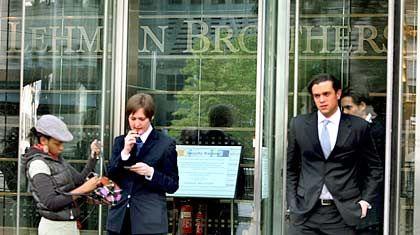Sinnbild der Krise: Lehman-Brothers-Niederlassung in London