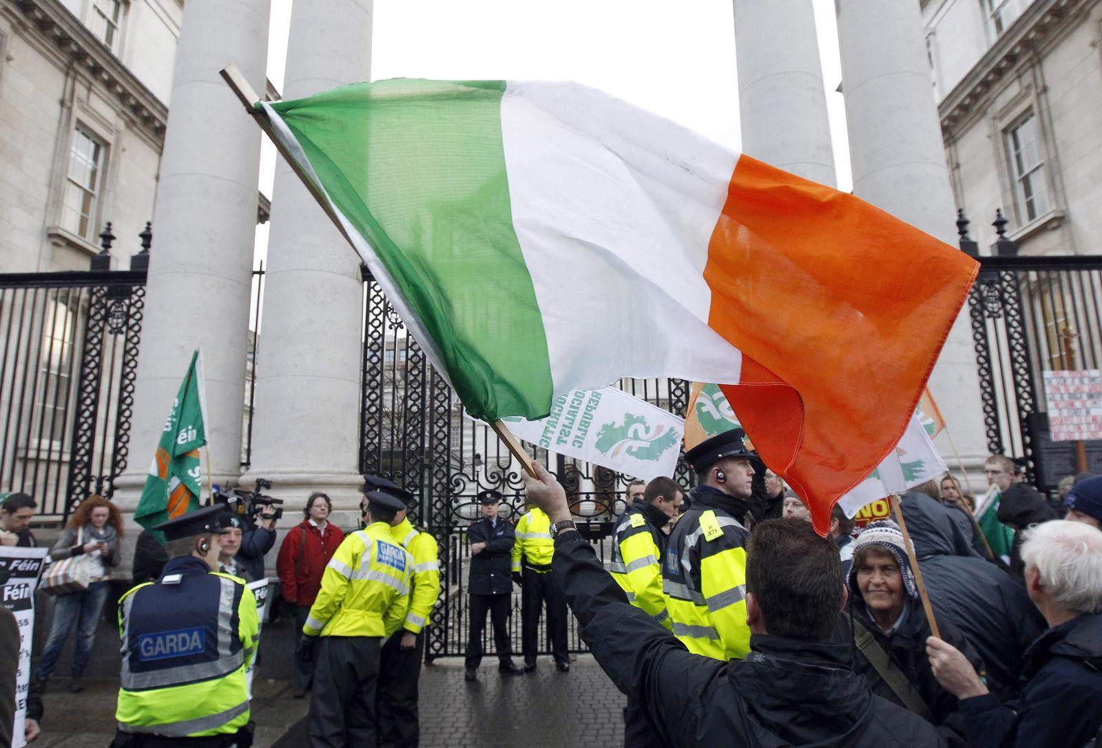 Irland / Proteste
