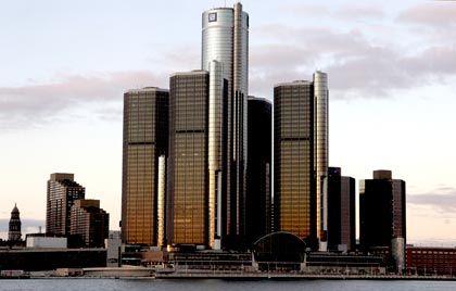GM-Zentrale in Detroit: Insolvenz wird immer wahrscheinlicher