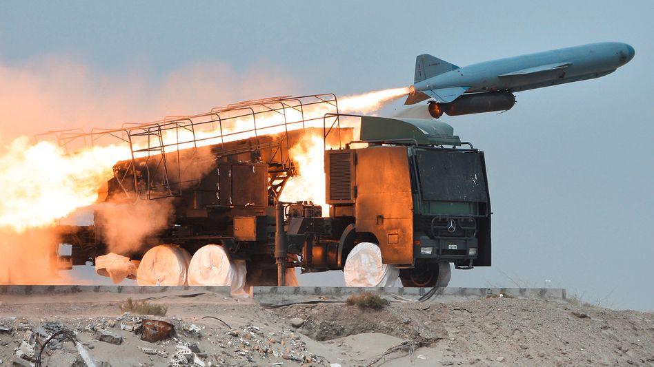 Boden-See-Rakete des Iran: Derzeit Manöver in der Straße von Hormus
