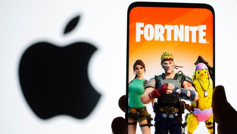 Apple verdient an der Fortnite-App auf iPhones kräftig mit: Fortnite-Entwickler Epic Games hält die Gebühren von bis zu 30 Prozent für zu hoch und will Apples abgeschlossenes System knacken