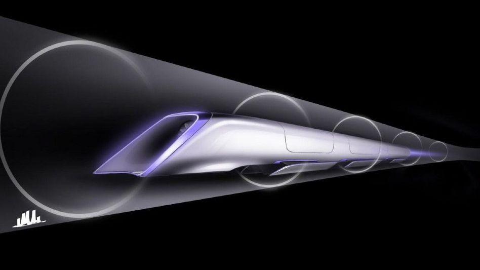 Hyperloop: Hochgeschwindigkeitszüge, die durch Röhren rasen, sind auch für die Lufthansa ein Thema