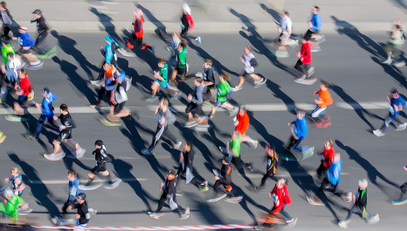 Halbmarathon Berlin / Laufen / Joggen