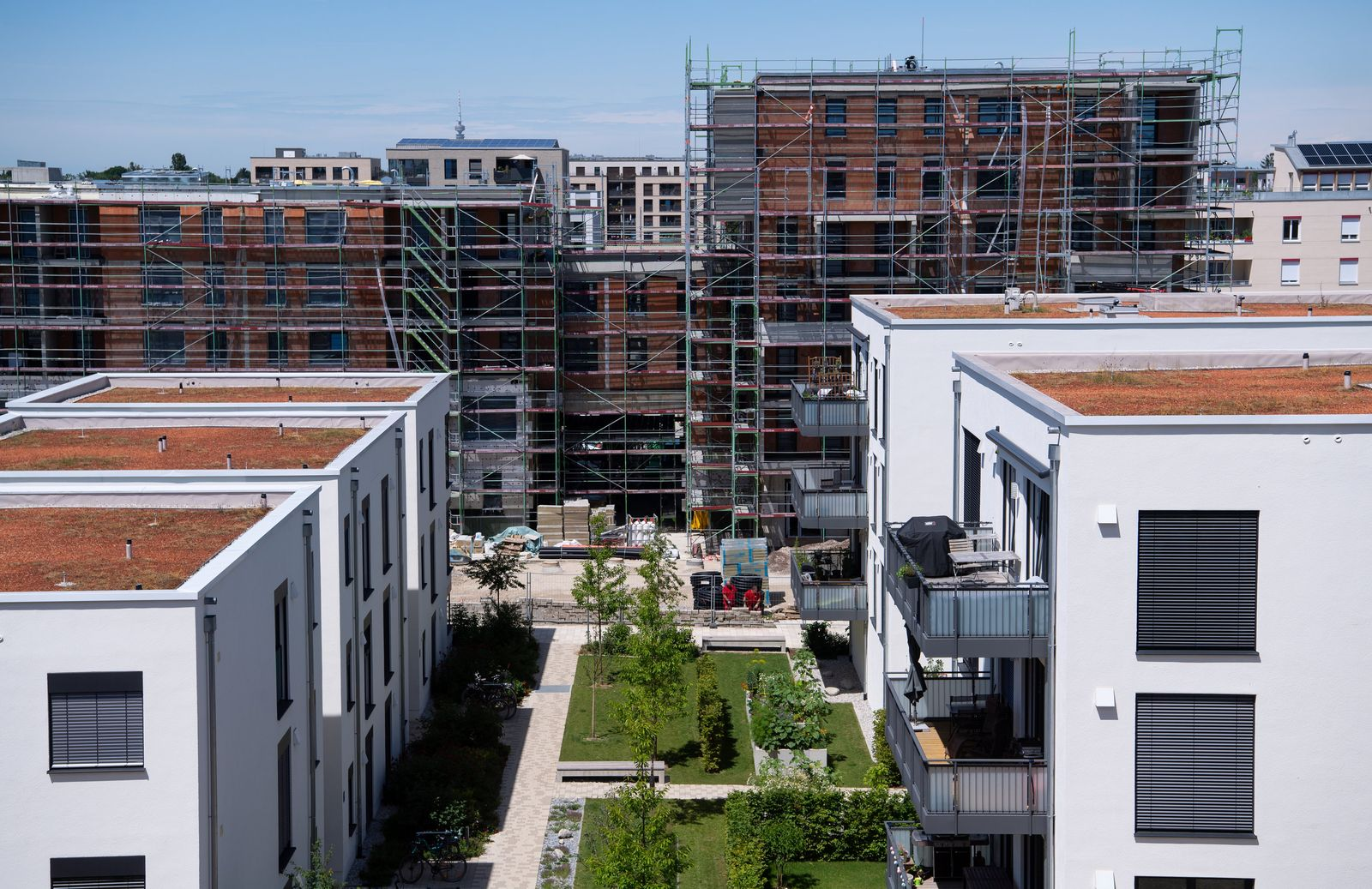 Neubaugebiet - Stadtentwicklung