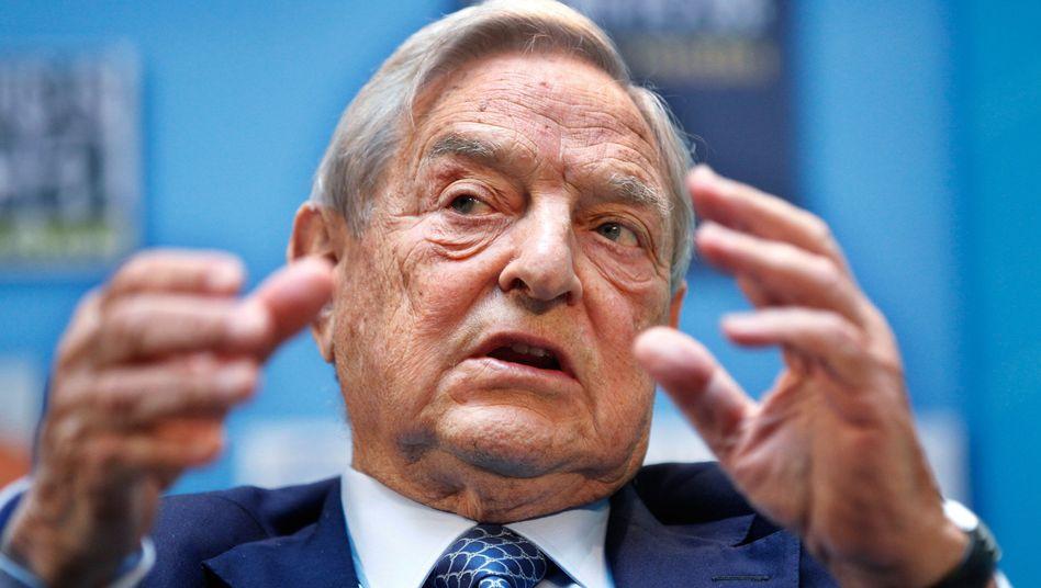 """George Soros: """"Deutschland sollte sich daran erinnern, dass es nach dem Zweiten Weltkrieg selbst von Schuldennachlässen profitiert hat"""""""