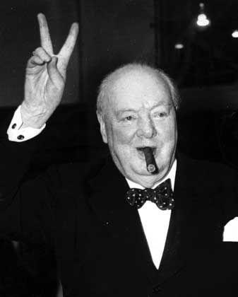 """Winston Churchill: """"Da waren Händler, eingefroren wie in der Zeitlupenaufnahme eines aufgeschreckten Ameisenhaufens"""""""