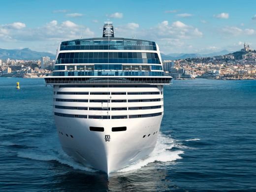 """Riesenschiff mit LNG-Antrieb: """"MSC World Europa"""" von MSC Cruises"""