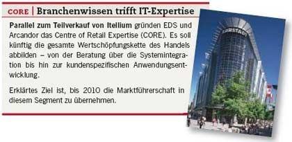 CORE: Die gemeinsame Retail-Organisation von EDS nd Arcandor