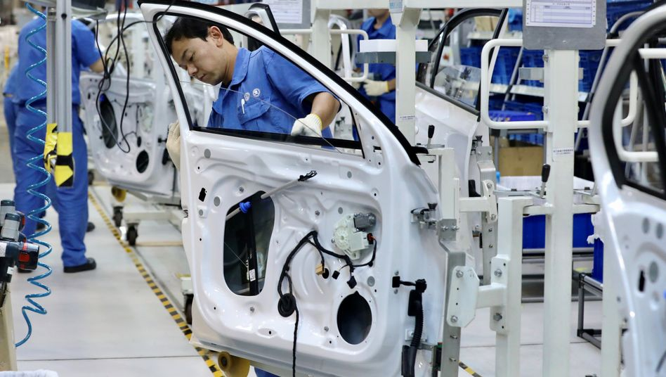 VW-Produktion in China