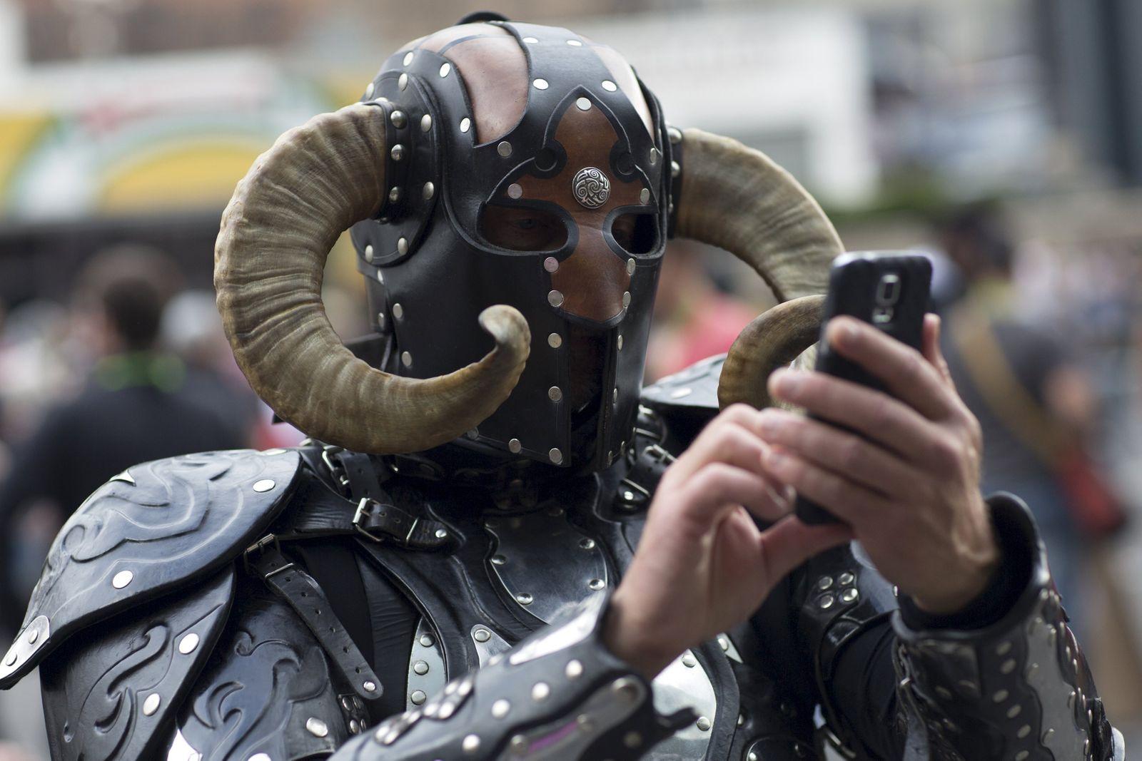 Handynutzer Smartphone