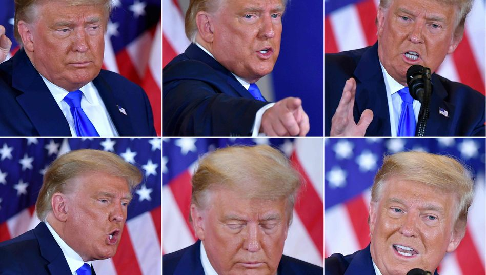 """""""We did win this election"""": US-Präsident Donald Trump"""