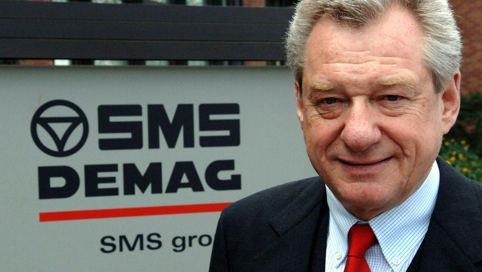 Sein Unternehmen: SMS-Aufsichtsratschef Heinrich Weiss, hier eine Aufnahme aus dem Jahr 2005.