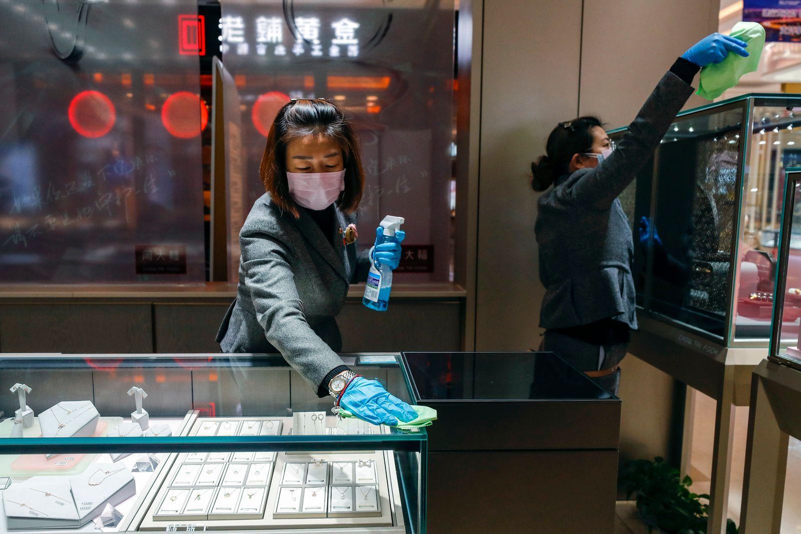 Coronavirus / China / Wuhan / Juewlier