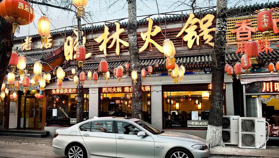 BMW in China: Der Autobauer konnte im vergangenen Jahr 19,7 Prozent mehr Autos in China verkaufen