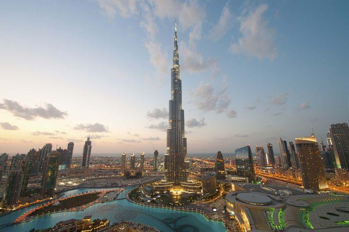 Orientalische Träume: Der Burj Khalifa ist derzeit das höchste Gebäude der Welt
