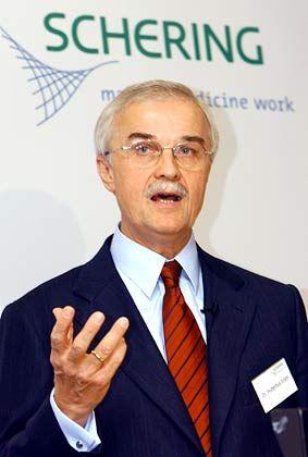 Setzt weiter auf einen Blockbuster gegen Krebs: Vorstandschef Hubertus Erlen