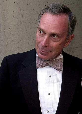 Seit einem Jahr Bürgermeister von New York: Michael Bloomberg