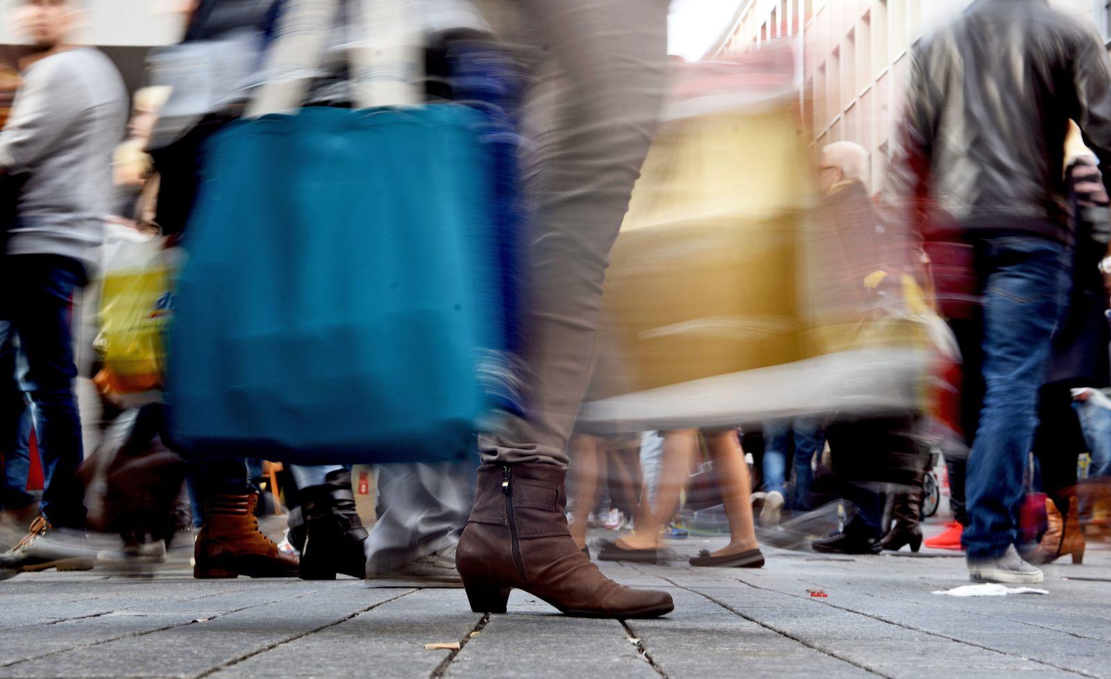 Deutschland / Konjunktur / Konsum / Shopping