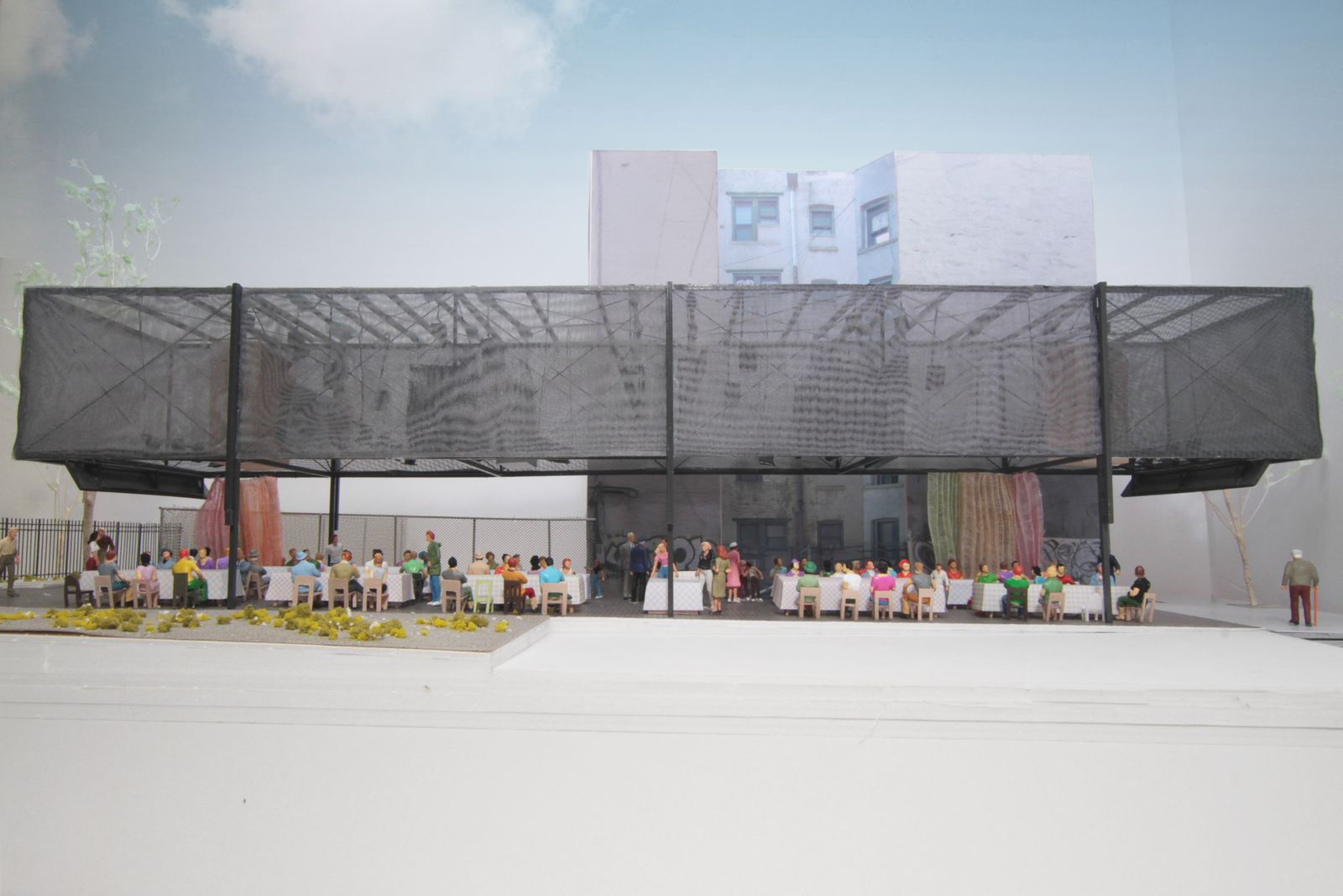 Architekturmodell BMW Guggenheim Lab