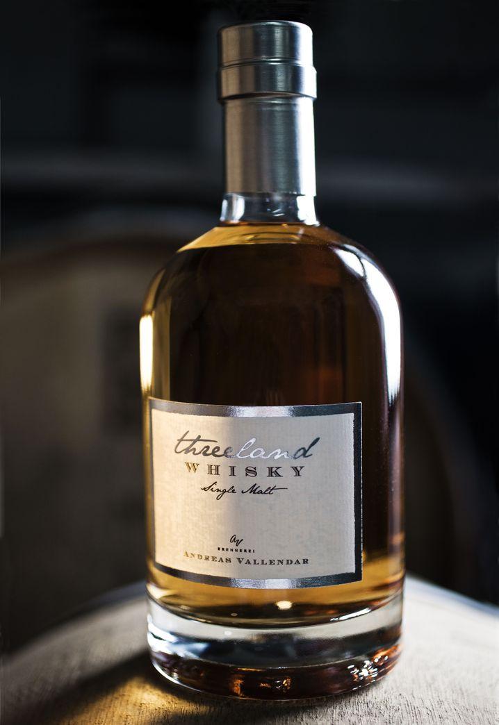 "Edle Optik: Andreas Vallendars ""Threeland Whisky"" aus Wincheringen"