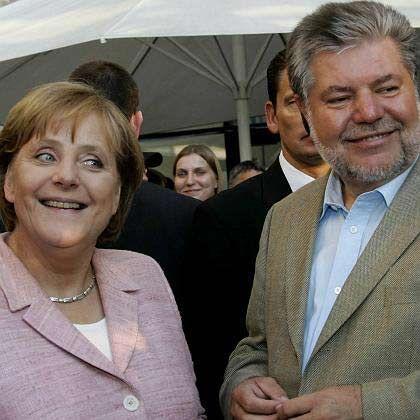 Großkoalitionäre Merkel und Beck: Alle überbieten sich mit Vorschlägen, wo man noch überall Geld hinleiten könnte