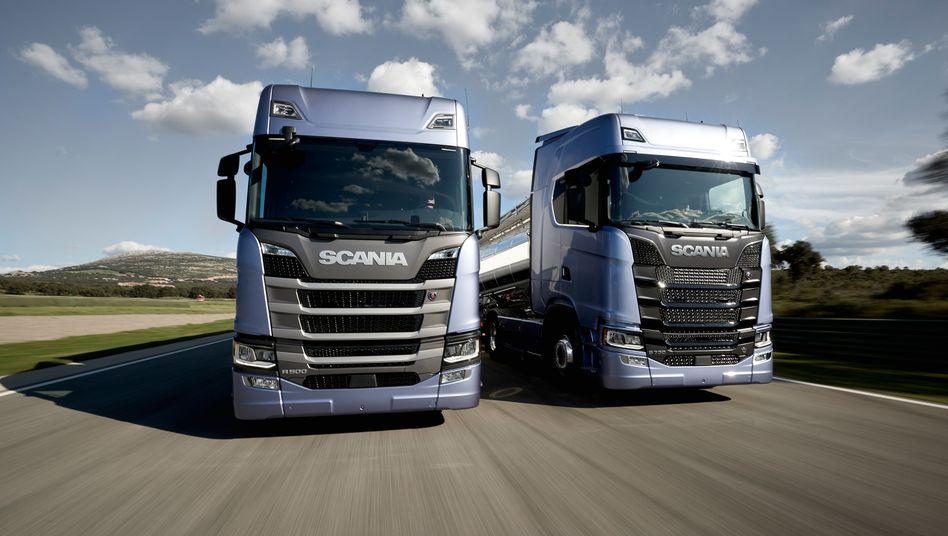 Scania-Lastwagen