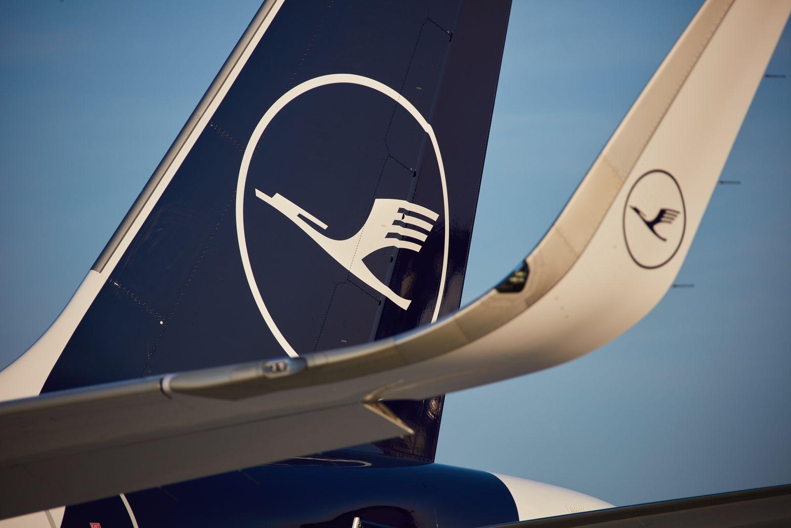 Lufthansa / Logo / Flugzeug Heckflosse