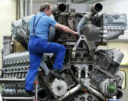 Schneller Verkauf für mindestens eine Milliarde Euro: Motorenmontage in Friedrichshafen
