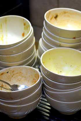 Großer Abwasch: Umsatz-Einbruch in der Gastronomie