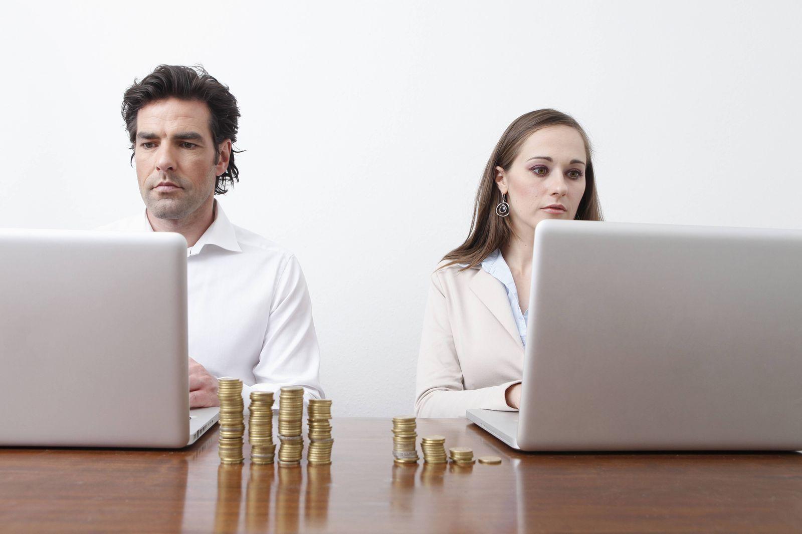 EINMALIGE VERWENDUNG Gender Pay Gap / Equal Pay Act