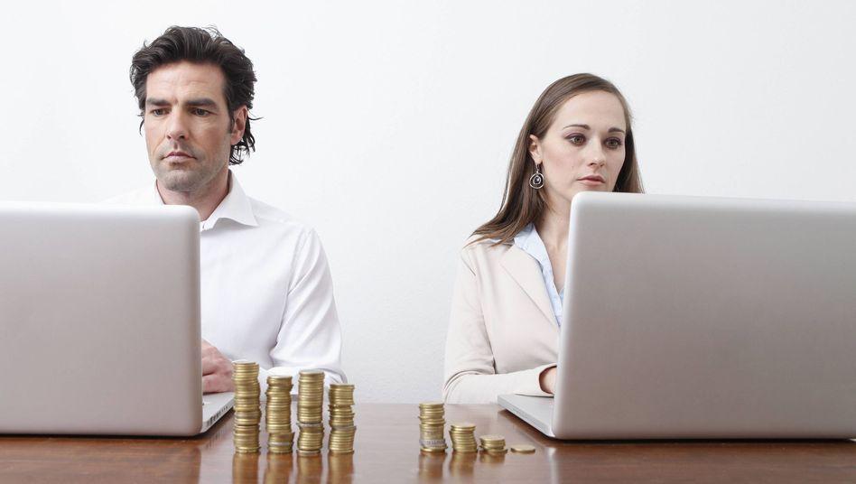 frauen verdienen weniger bei gleicher arbeit
