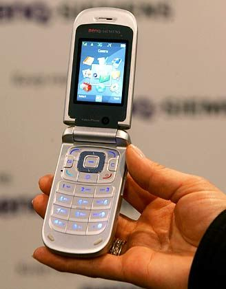 Erstes HSDPA-fähiges Handy von Benq: Das EF 91