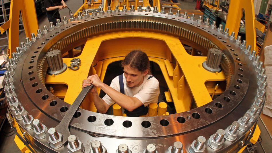 Kirow Ardel in Leipzig: Deutsche Industrie produziert wieder mehr