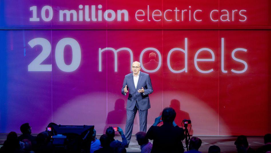 Newcomer: Jürgen Stackmann präsentierte im Mai den neuen ID3 in Berlin