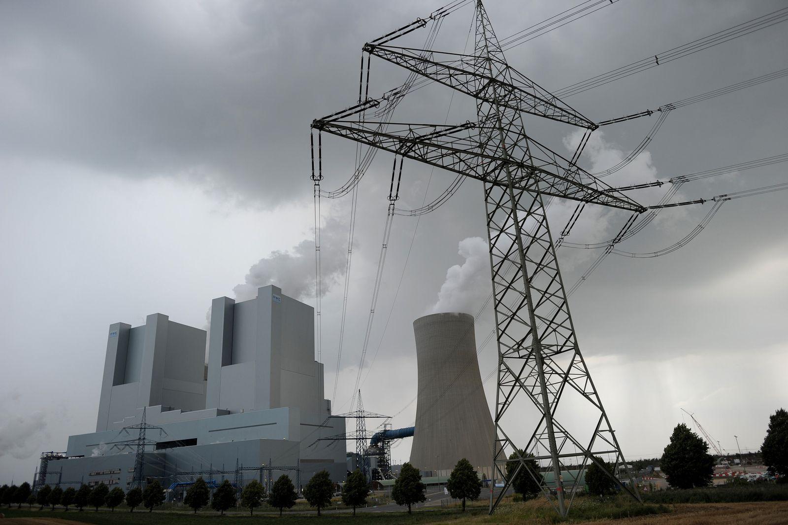 CO2 / Braunkohle / Kraftwerk