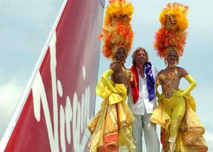 Zukauf in Malaysia: Virgin-Atlantic-Chef Branson (m.)
