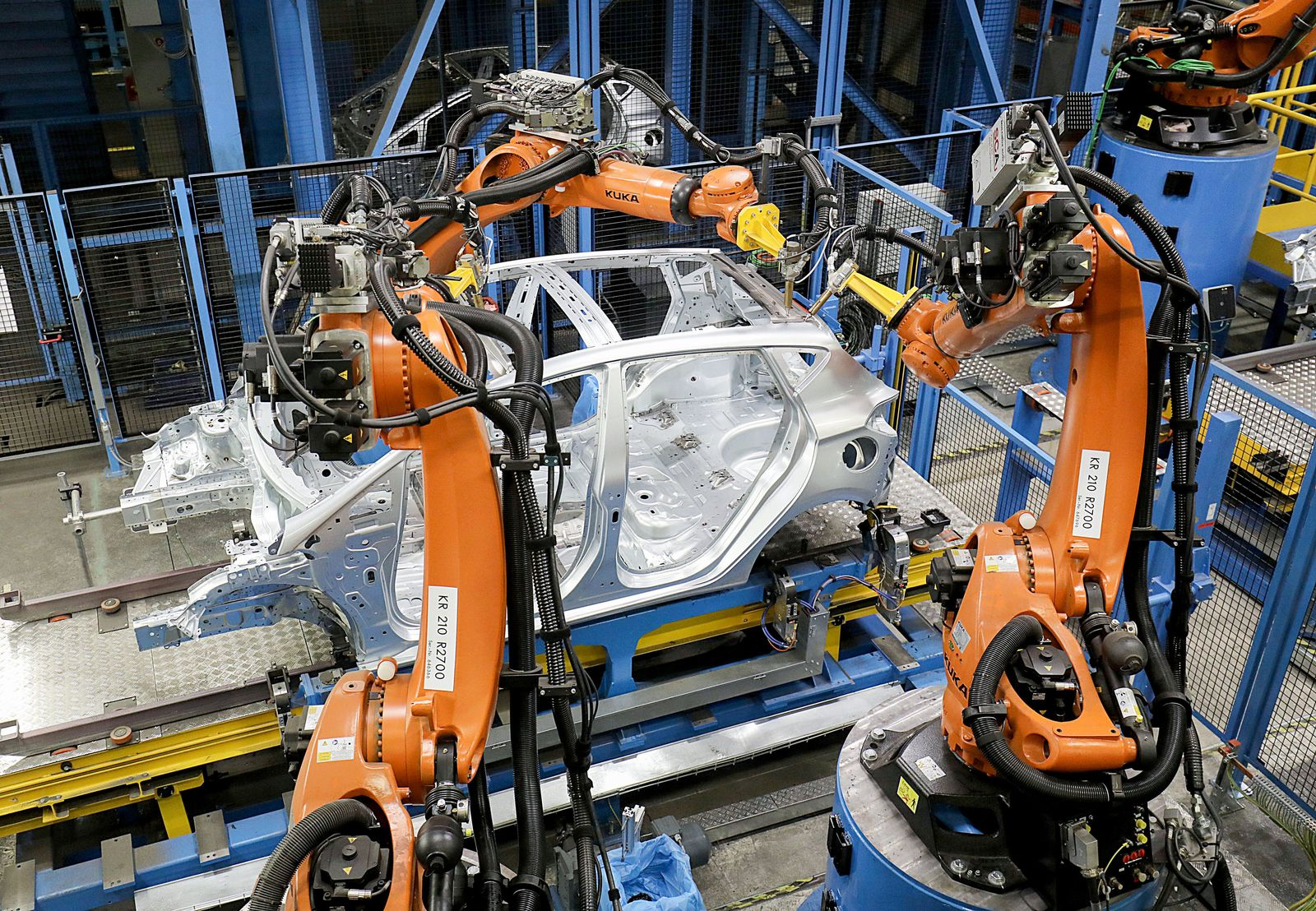 Kuka - Produktion bei Ford