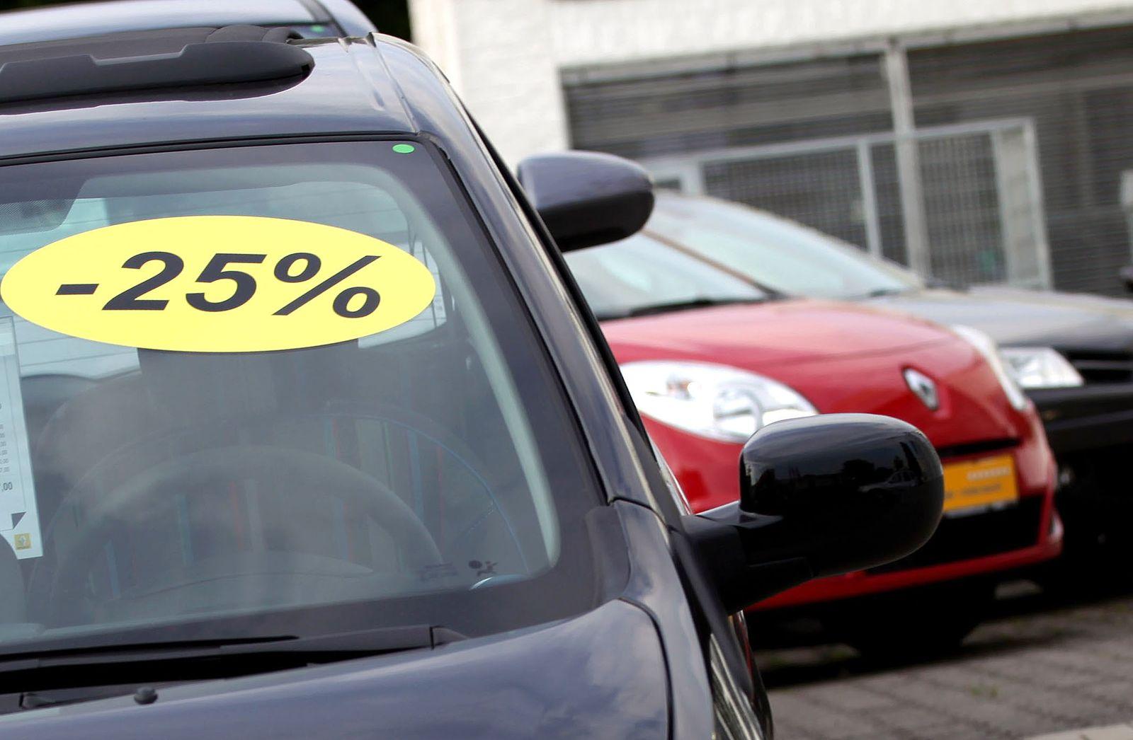 Rabattschlacht auf deutschem Automarkt