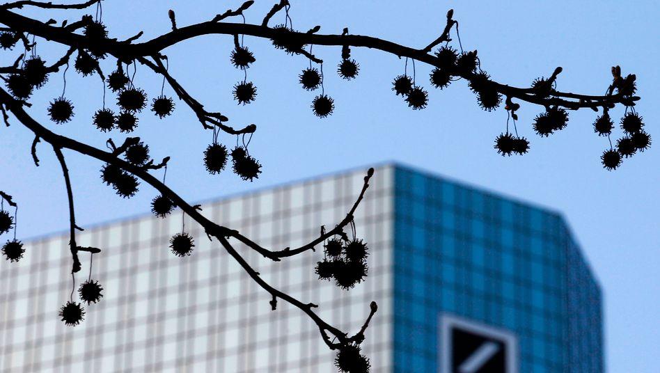 Deutsche Bank in Frankfurt: Vorwürfe der Finanzaufsicht
