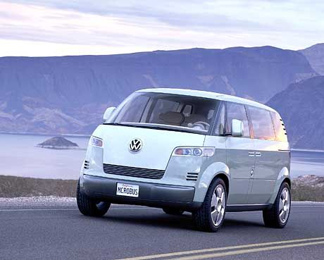 Soll viele Teile vom T5 bekommen: VW Microbus