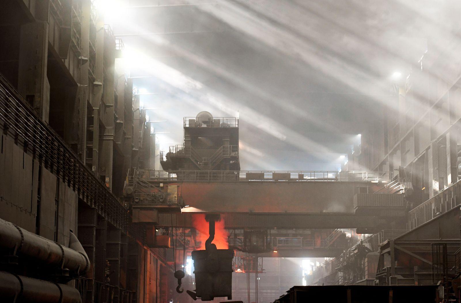Deutschland / Konjunktur / Stahl-Industrie / Export /Salzgitter